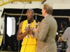 Kurt Rambis interviews Kobe Bryant for ESPN